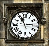 Medieval clock in Prague