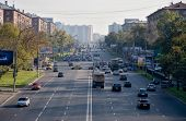 One of moscow big roads.