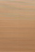 Horizontal jalousie. As texture or background.