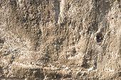 Ruwe hobbelige oude concrete textuur.