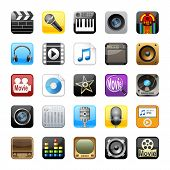 Multimedia icons