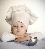 The sad cook
