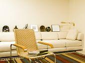 Southwestern Style Living Room Modern Condo