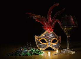 picture of masquerade mask  - Accessories for the masquerade - JPG