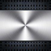 Fondo de metal con patrón de chip