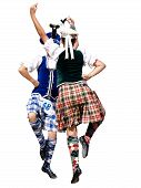 Two Highland Dancers