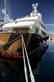 Wooden Luxury Yacht