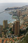Coastal Line Of Monaco