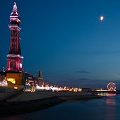 Blackpool Tower and Golden Mile