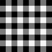 Lumberjack Plaid. Scottish Pattern In White And Black Cage. Scottish Cage. Buffalo Check. Traditiona poster