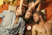 Love Triangle And Romance, Perfect Morning. Swinger Relations, Relax, Wake Up. Family Trust, Polygam poster