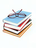 picture of cultural artifacts  - stack of books - JPG