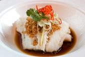 Imperial Fillet Of Cod In Light Soy Sauce
