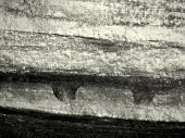 Charcoal texture on paper.Hand made  background with charcoal