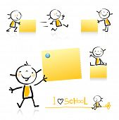 picture of cartoon character  - children hand - JPG