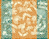 animals aboriginal australian style drawings