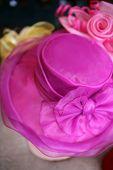 Bright Pink Hat