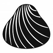 Hard Shell Icon. Simple Illustration Of Hard Shell Icon For Web poster
