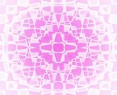 Pink And White Star Pattern Background Fading To White poster