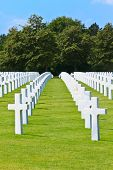 American War Cemetery Near Omaha Beach, Normandy (colleville-sur-mer)