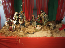 stock photo of crip  - Crip during christmas in our place new delhi india - JPG