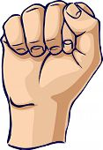 Power Hand Gesture