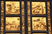 picture of adam eve  - Scenes on the Gates of Paradise  - JPG