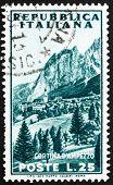 Estampilla Italia 1953 Cortina d ' Ampezzo