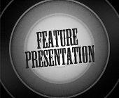 Feature Presentation Background