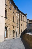 Medici palace. Orvieto. Umbria. Italy.