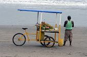 Juice Cart on the Beach