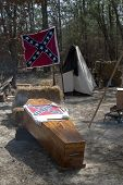 Confederate Coffin