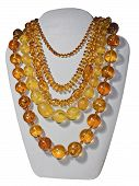 Amber Bead Necklaces