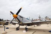 Museum Of The Air Force Of The Israel Defense Forces. British Supermarine Spitfire Mk.1X