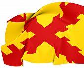Tercios Morados Viejos Flag