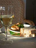 Salmon, Wine And Light