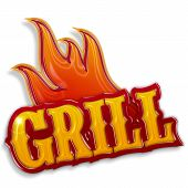 grill label