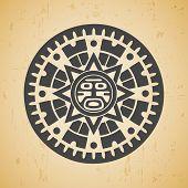 Maya sun