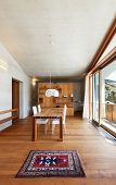 image of chalet interior  - interior mountain house - JPG
