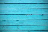 Texture Of Blue Wood Planks