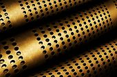 Perforated Metal Pipes