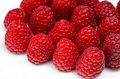 Fresh Ripe Raspberry