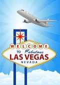 Las Vegas And Airplane