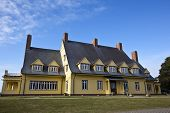stock photo of whalehead club  - The historic Whalehead Club - JPG