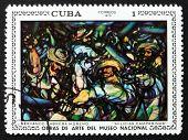 Postage Stamp Cuba 1970 Militia, By Servando C. Moreno