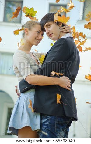 poster of Young Couple And Defoliation