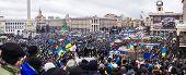 Meeting For European Integration In Center Of Kiev