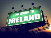 stock photo of ireland  - Welcome to Ireland  - JPG