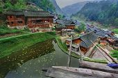 image of south east asia  - Langde Village Guizhou China  - JPG