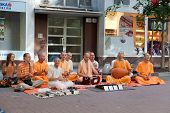 Members of Hare Krishna